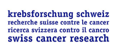 Swiss Cancer Research - Logo